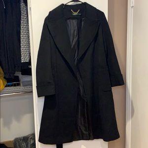Lauren Ralph Lauren coat wool blend wrap